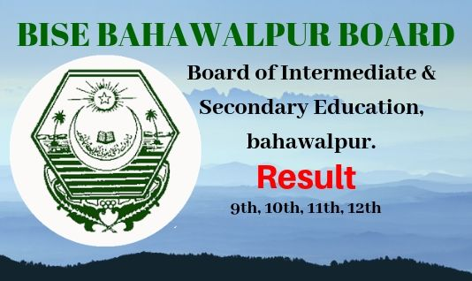 Bise Bahawalpur 11 Class Result