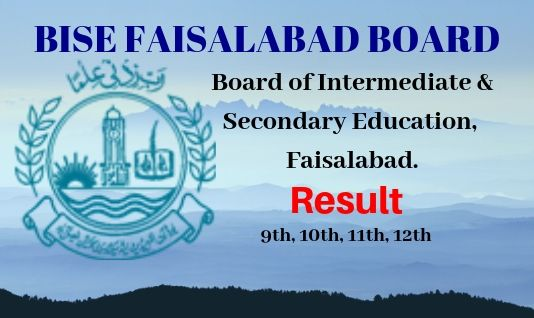 Bise Faisalabad 11 Class Results