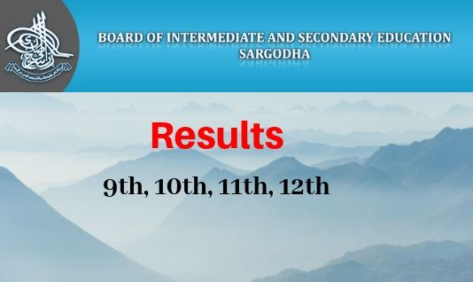 Bise Sargodha 11 Class Results
