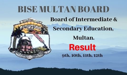 Bise Multan Board Results